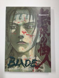 Blade Of The Immortal Massacre Softcover Sc Near Mint Nm Dark Horse