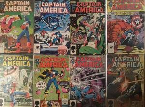 CAPTAIN AMERICA 1985 #301-308 VERY FINE TO NM!8 BOOK LOT!SATIFACTION GUARANTEED!