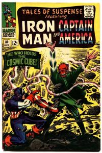 Tales Of Suspense #80 1966-cosmic cube-iron Man-captain America-red skull Cvr