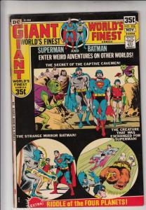 World's Finest #206 (Nov-71) FN/VF Mid-High-Grade Superman, Batman, Robin