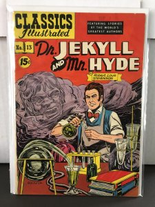 Classics Illustrated #13 Dr. Jekyl and Mr. Hyde 8th Print HRN 87