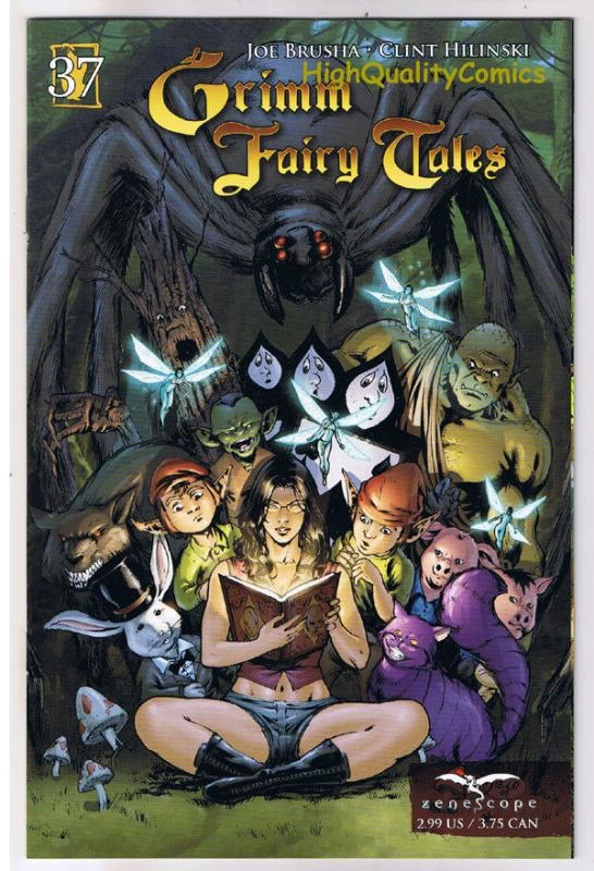 GRIMM FAIRY TALES #37, NM-, Little Miss Muffet, 2005, more GFT in store