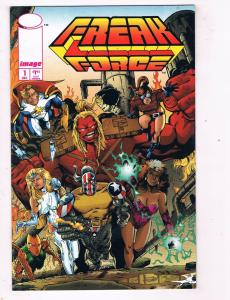 Freak Force #1 VF/NM Image Comics Modern Age Comic Book Dec 1993 DE48