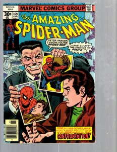 Amazing Spider-Man # 169 VF Marvel Comic Book MJ Vulture Goblin Scorpion TJ1