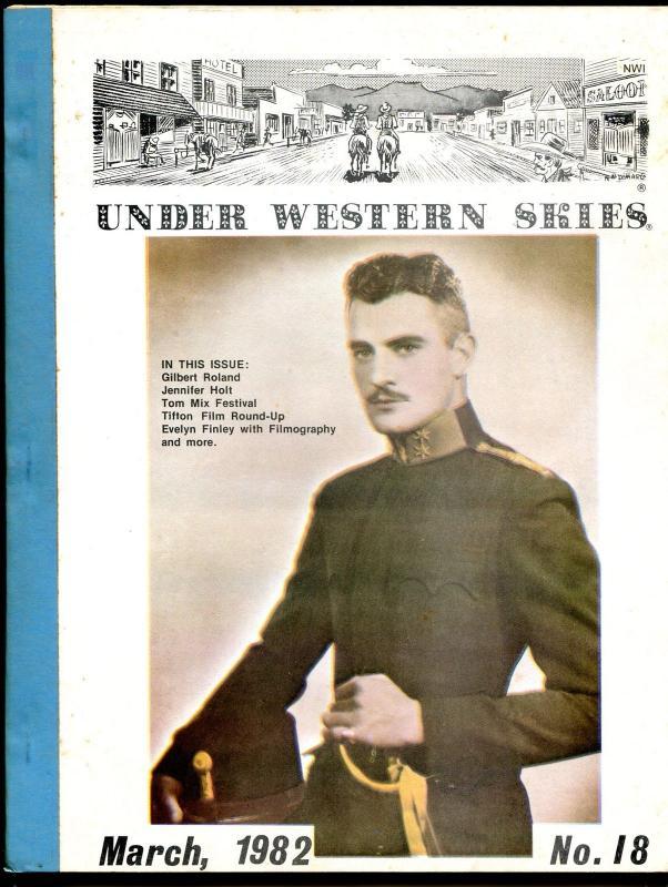 3b556ce1 Under Western Skies #18 3/82-Tom Mix-Gilbert Roland-Jennifer Holt-B-Westerns-FN  / HipComic