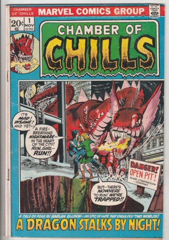 Chamber of Chills #1 (Nov-72) FN Mid-Grade