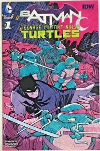BATMAN TEENAGE MUTANT NINJA TURTLES#1 NM 2016  MIDTOWN VARIANT DC/IDW COMICS