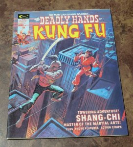 The Deadly Hands of Kung Fu #13 VF+ High Grade Magazine Martial Arts Shang-Chi