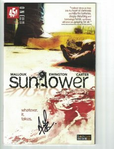 Sunflower #1 VF/NM signed by Andi Ewington - 451 Media Group - 2015