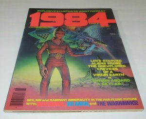 1984 #6 FN/VF 1979 Sci-Fi Horror Magazine Adult Fantasy Warhawks Strange World