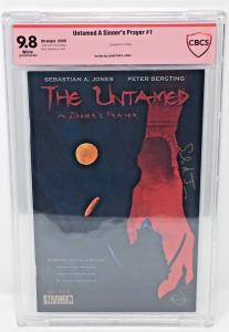 Untamed A Sinner's Prayer #1 1st App. of Niobe SIGNED by writer S.A. Jones - KEY