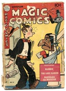 Magic Comics #112 9148- Mandrake- Blondie- Lone Ranger FR