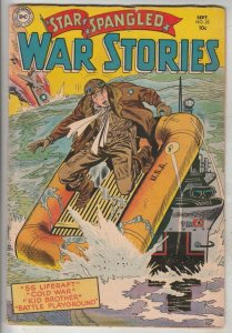 Star Spangled War Stories #25 (Sep-54) FN+ Mid-High-Grade One-Man Navy