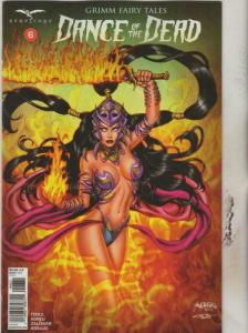 DANCE of the DEAD #6 C, NM-, Grimm Fairy Tales, 2018, more GFT in store