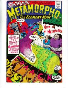 Metamorpho the Element Man #4 (Feb-66) VF- High-Grade Metamorpho, Simon Stagg...