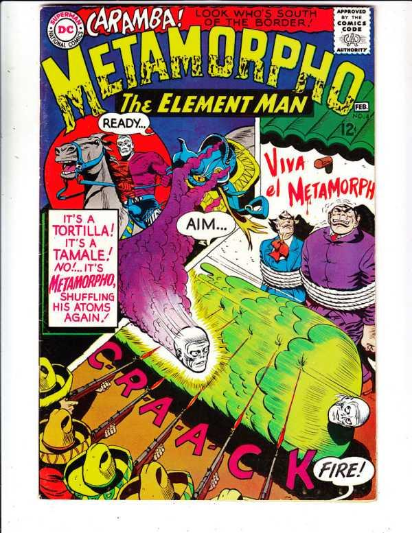Metamorpho the Element Man #4 (Feb-66) VF- High-Grade Metamorpho, Simon Stagg...
