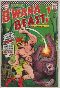 Showcase Comics #66 (Feb-67) FN/VF+ High-Grade B'Wana Beast