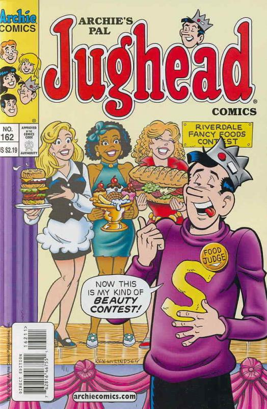 Archie's Pal Jughead Comics #162 VF/NM; Archie | save on shipping - details insi