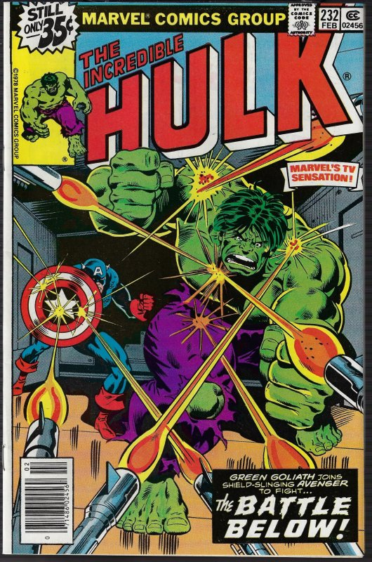 Incredible Hulk #232 (Marvel, 1979) NM