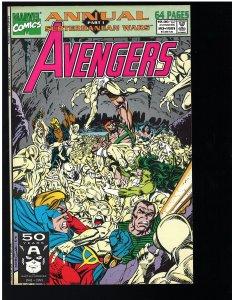 Avengers #20 Annual (Marvel, 1991)