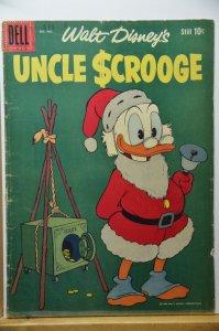 Uncle Scrooge #24 (1958) Very Nice Book, 62 years old!