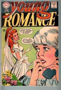 YOUNG ROMANCE #155 1968-DC ROMANCE-VG- VG-