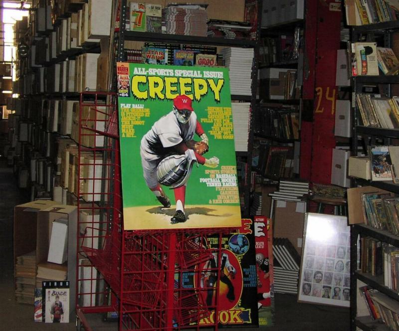 CREEPY 84 CLASSIC 1970s WARREN POSTERx3 WHOLESALE!