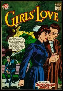 Girls' Love Stories #102 1964- Nurse Cover by Jay Scott Pike VG