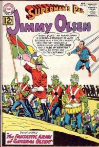 Superman's Pal Jimmy Olsen (1954 series) #60, VG+ (Stock photo)