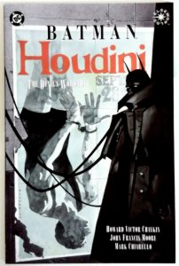 Batman Houdini The Devil's Workshop NM High Grade DC Comic TPB Novel Comics book