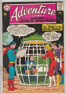 Adventure Comics #321 (Jun-64) FN+ Mid-Grade Legion of Super-Heroes, Superboy
