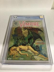 Vampire Tales 2 CGC 9.4 OW/W Pages First App. Of Satana Marvel Comics