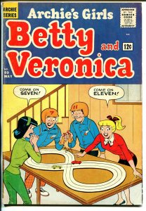 Archie's Girls Betty & Veronica #89 1963-slot car racing cover-VG