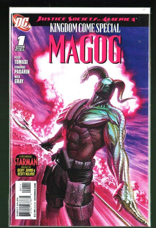 JSA Kingdom Come Special: Magog #1 (2009)