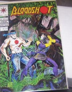 Bloodshot #7 (Aug 1993, Acclaim / Valiant)  2nd apperance ninjak  key