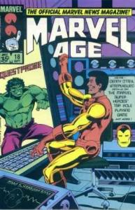 Marvel Age #18, NM- (Stock photo)