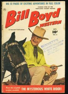 BILL BOYD WESTERN #6-FAWCETT-PHOTO COVER G