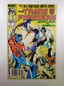 The Transformers #2 (1984) VF+