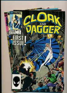 Marvel Set of 4-CLOAK AND DAGGER 1985 SERIES #1-4 F/VF (PF935)