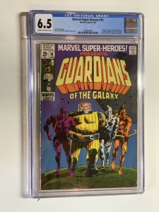 Marve Super-heroes 18 Cgc 6.5 Cr/ow Pages Silver Age