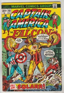 Captain America #160 (Apr-73) FN/VF Mid-High-Grade Captain America