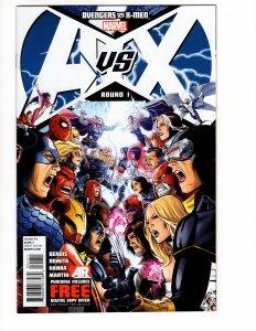 Avengers vs X-Men #1 (VF/NM) Modern Age Marvel ID51L