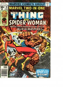 Marvel Two-In-One 30 VG/F   Spider-Woman 2nd Appearance!