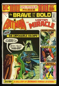 Brave And The Bold #112 VF 8.0 Batman Mister Miracle!