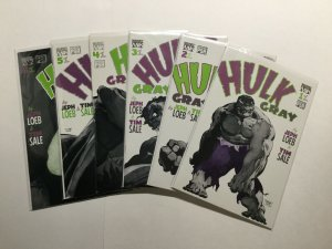 Hulk Gray 1-6 1 2 3 4 5 6 Lot Run Set Near Mint Nm Marvel