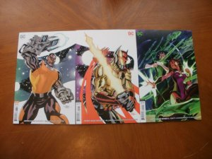 3 Mint VARIANT Cover DC JUSTICE LEAGUE ODYSSEY Comic #3 #5 #6 (2019)