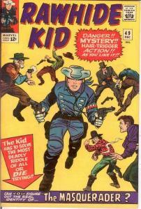 RAWHIDE KID (1960-1979) 49 VF-  Dec 1965 Colan repr COMICS BOOK
