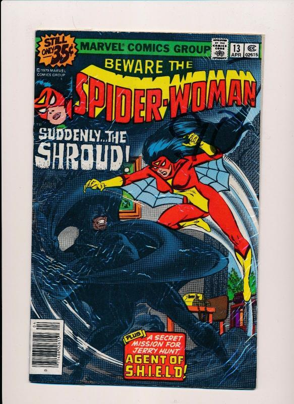 Marvel Comics SPIDER-WOMAN #13 VG/F (SRU494)