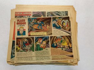Flash Gordon's 1951 Tabloid Color Newspaper Sundays Lot Of 30