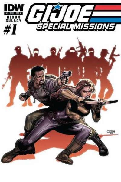 G.I. Joe Special Missions (2013 series) #1, VF- (Stock photo)